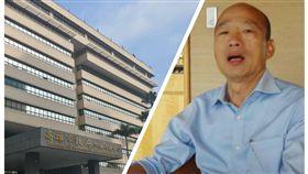韓國瑜與恭雄市政府組合圖