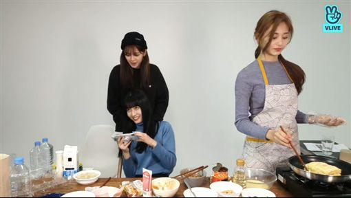 子瑜,TWICE,蛋餅,下廚/TWICE VLIVE