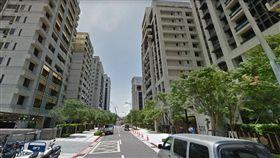 台北市內湖區的新富街(圖/翻攝自Google地圖)