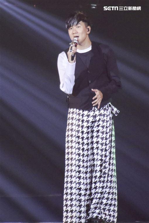 林俊傑「聖所世界巡迴演唱會」台北場第四天亞巡最終場。(記者林士傑/攝影)