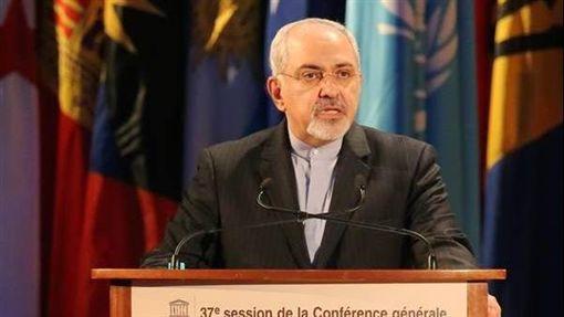 伊朗外交部長查瑞夫(Mohammad Javad Zarif)(圖/翻攝自Javad Zarif臉書)