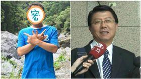 台南,立委補選,謝龍介,謝岩介(圖/翻攝自臉書)