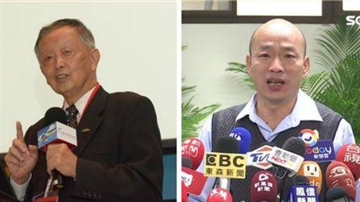 李家同,韓國瑜 圖/經濟部技術處官網、資料照