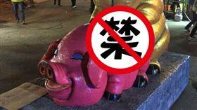南投燈會「生生不息」雕像/翻攝自臉書爆廢公社公開版