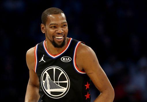 NBA/KD末節爆氣獲明星賽MVPNBA,2019全明星,Kevin Durant,MVP翻攝自推特