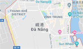 越南遊覽車撞貨櫃車!11南韓旅客受傷(圖/翻攝自google map)