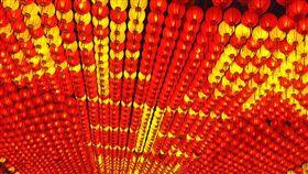 台灣燈會呈現在地特色台灣燈會試營運3天破51萬人次,燈會呈現精彩人文及在地特色。中央社記者郭芷瑄攝 108年2月18日