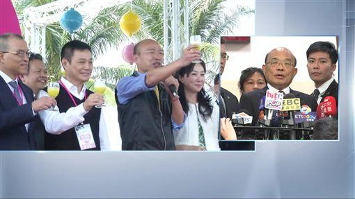 蘇貞昌0219立院前受訪,新聞台