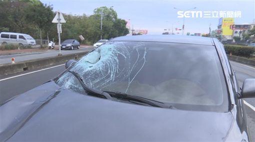 台中死亡車禍,66歲婦人遭撞死手腳分離、臟器外露