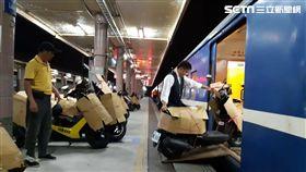 行李包裹列車,停辦,台鐵局,機車托運,/台鐵局提供
