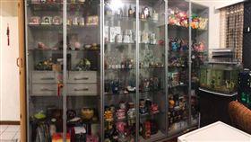 玻璃櫥櫃,岳母,整理,/翻攝自爆廢公社
