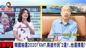 54新觀點視訊連線韓國瑜,新聞台