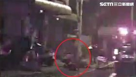 台中沙鹿酒駕撞3人肇逃/翻攝畫面