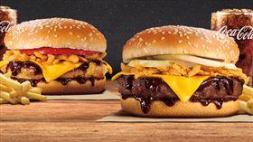 漢堡王單日限定買一送一。(圖/取自臉書)
