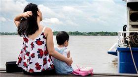 媽媽,小孩,母女,女童(圖/翻攝自PIXABAY)