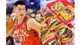 ▲林書豪在推特發文說自己喜歡「In-N-Out」漢堡。(圖/翻攝自推特)