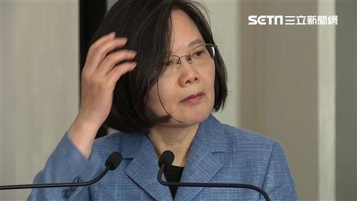 0220總統蔡英文迴廊談話,新聞台