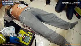 救護人員抵達後接手救護並成功救回民眾性命。(圖/新北消防發爾麵臉書授權)