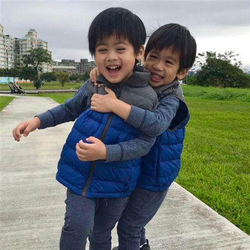 林志穎雙胞胎兒子。(圖/翻攝自林志穎IG)