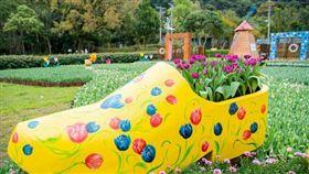 圖/北市公園處提供,士林官邸,鬱金香