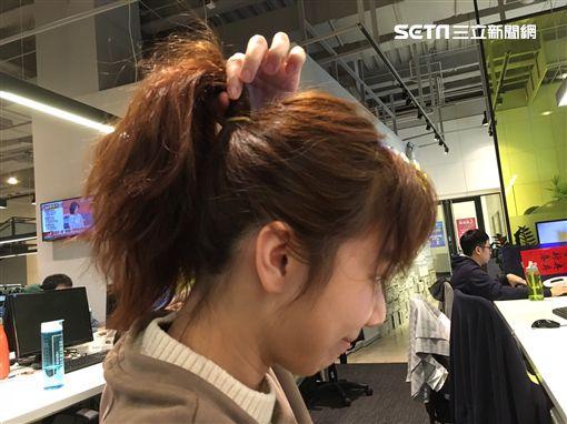 綁馬尾,馬尾,綁頭髮(圖/資料照)