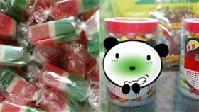 糖果,難吃,噁心,三色糖,健素糖(圖/翻攝自爆廢公社二館)