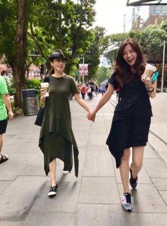 徐若瑄,仙女,舊照,姊姊/翻攝自徐若瑄臉書 ID-1790949