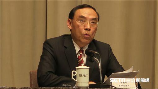 法務部長蔡清祥。(圖/記者盧素梅攝影)