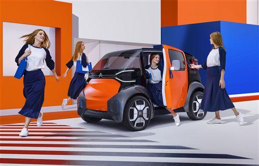 ▲Citroën AMI One電動車。(圖/翻攝網站)
