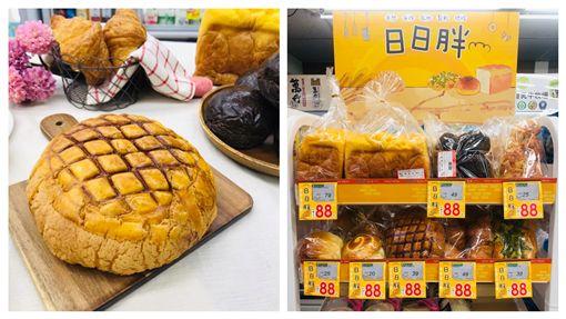 超市開賣現烤麵包