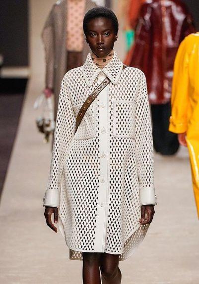Karl Lagerfeld,FENDI,老佛爺,米蘭時裝週,vogue 圖/翻攝自Instagram