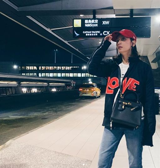 賈靜雯,米蘭時尚週,Chiara Ferragni,Alberta Ferretti 圖/翻攝自Instagram