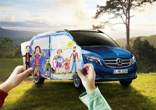 ▲租V 250 d送出遊補助金。(圖/Mercedes-Benz提供)