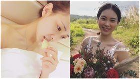 香港,慾照,空姐,婚紗,結婚(圖/翻攝自plastichub、IG)
