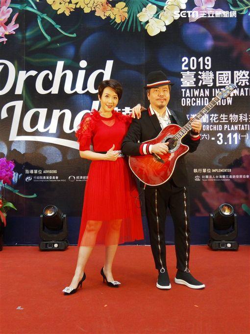 2019臺灣國際蘭展,寇乃馨,黃國倫