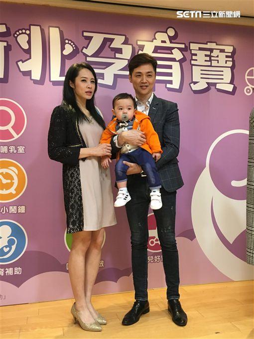 宋達民、洪百榕出席《新北孕寶App活動》。(圖/記者常朝貴)