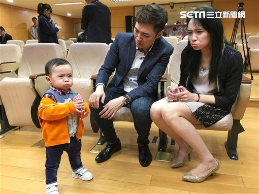 宋達民、洪百榕出席《新北孕寶App活動》。(圖/記者常朝貴攝影)