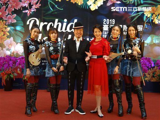 黃國倫、寇乃馨行銷2019臺灣國際蘭展