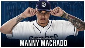 Manny Machado正式加入教士隊。(圖/翻攝自教士隊推特)