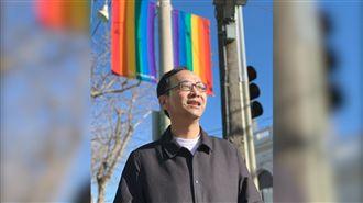 時機到了?朱立倫臉書合照「彩虹旗」