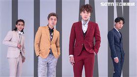 男團泰坦推出純愛酸甜情歌《換日線》單曲。(圖/本勢娛樂)