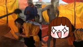 印度,宗教,啞鈴,裸體,教徒,生殖器,鈴鐺,Kumbh Mela 圖/翻攝自臉書