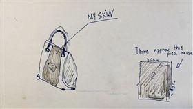 英國,截肢,皮包,製作,人皮,設計師,Joan,Sewport,包包, 圖/翻攝自Sewport