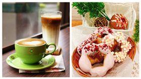 甜甜圈、咖啡優惠。