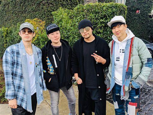 周杰倫,林俊傑,吳建豪,麥烝瑋,F4(圖/翻攝自周杰倫Instagram)
