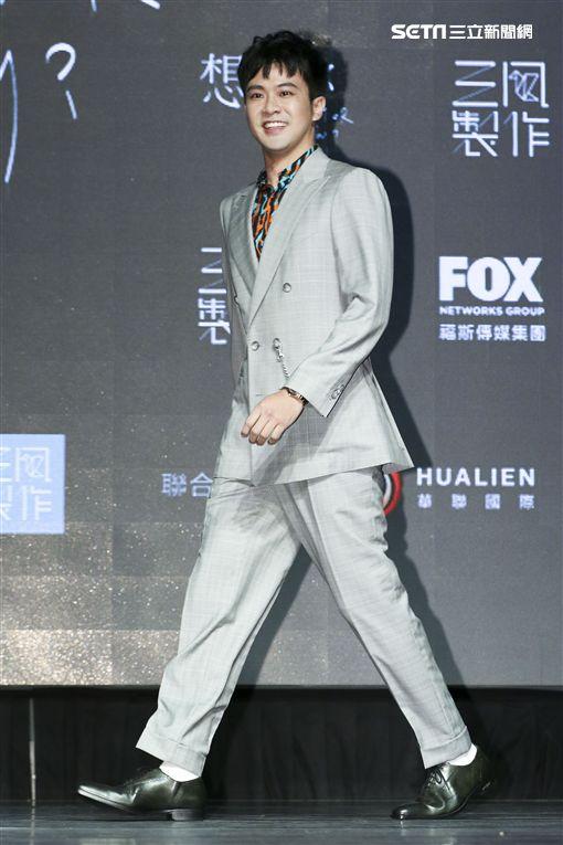 顏毓麟出席新戲《想見你》記者會。(圖/記者林士傑攝影)