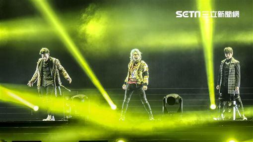 天團「5566」小巨蛋演唱會孫協志、王仁甫、許孟哲。(記者林士傑/攝影)