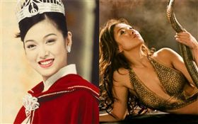 港星李珊珊在1996年奪下香港小姐冠軍。微博