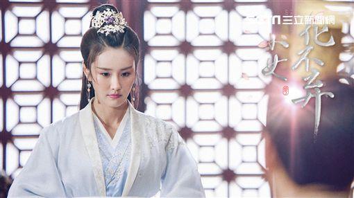 黃心娣所飾演的柳青蕪遲遲得不到陳煜的愛。(圖/周子娛樂提供)