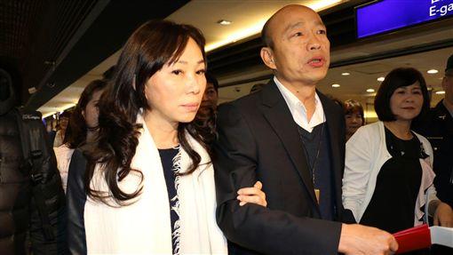 高雄市長韓國瑜、李佳芬出訪新加坡、馬來西亞 圖/高雄市政府新聞局提供